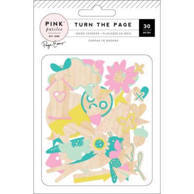 Pink Paislee - Paige Evans - Turn The Page Wood Veneers