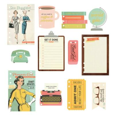 Simple Stories - The Reset Girl A5 Dashboards