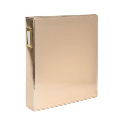 Studio Calico 7Paper Handbooks 9 x 12 Faux Leather Album - Gold