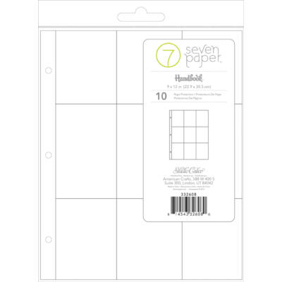 Studio Calico 7Paper Handbooks 9 x 12 Photo Pockets 4x3