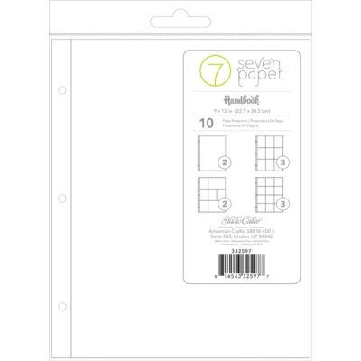 Studio Calico 7Paper Handbooks 9 x 12 Photo Pockets Multi Pack