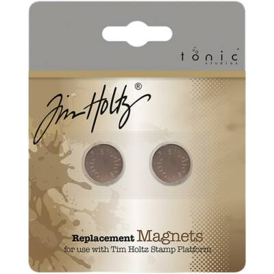 Tim Holtz Stamping Platform Replacement Magnets 2/Pkg