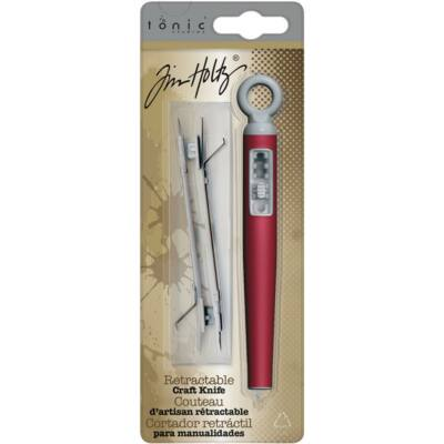 Tim Holtz Retractable Craft Knife with 2 Blades
