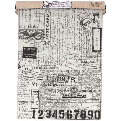 Tim Holtz Idea-Ology Tissue Wrap 30cm x 4,5m - Postale