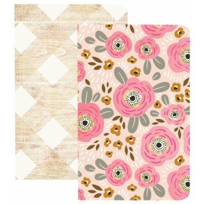 Webster's Pages Pocket Traveler's Notebooks - Love & Flowers