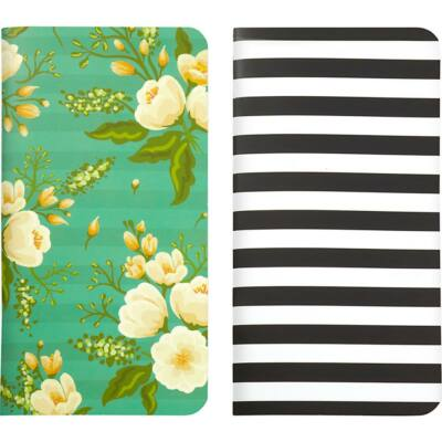 Webster's Pages Traveler's Notebooks - Green Floral