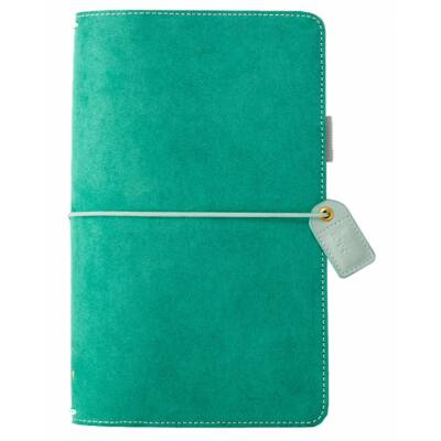 Webster's Pages Color Crush Traveler's Notebook Planner - Aspen Green Suede