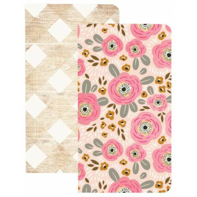 Webster's Pages Traveler's Notebooks - Flowers & Wood