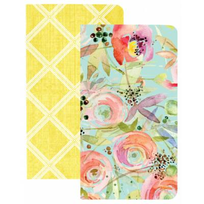 Webster's Pages Traveler's Notebooks - Trellis & Flowers