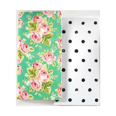 Websters Pages Color Crush Travelers' Notepad Set Floral & Dot