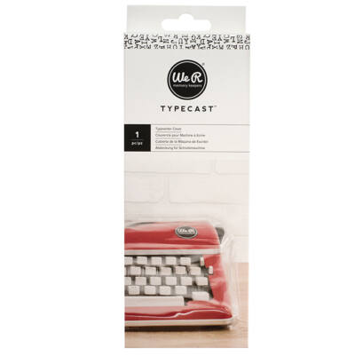 We R Memory Keepers Typecast - Clear Typewriter Cover
