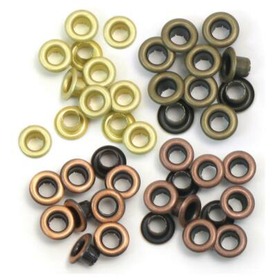 We R Memory Keepers Standard Eyelets - Warm Metal