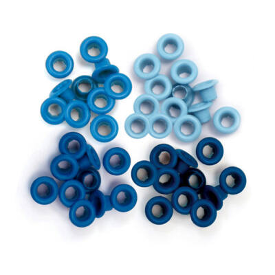 We R Memory Keepers Standard Eyelets - Blue