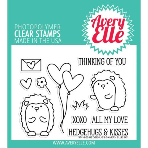 Avery Elle Clear Stamp - Hedgehugs