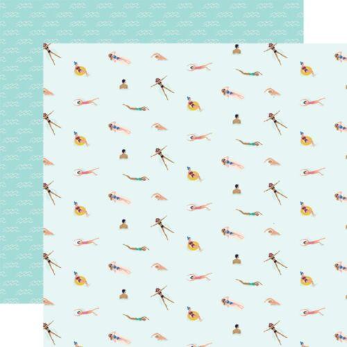 Carta Bella - Let's Travel 12x12 scrapbook paper - Life Is Good