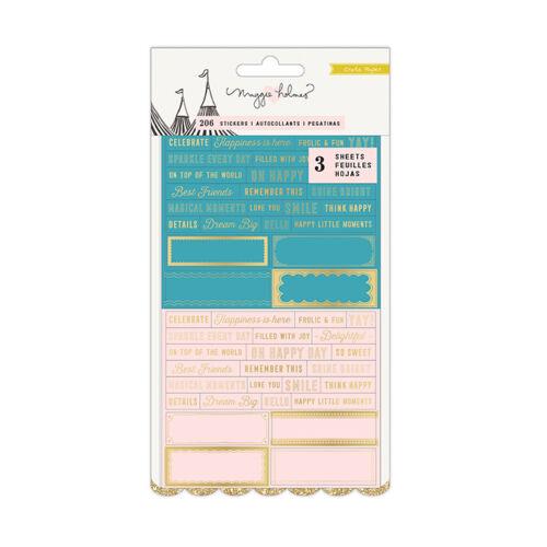Crate Paper - Maggie Holmes Carousel áttetsző matrica