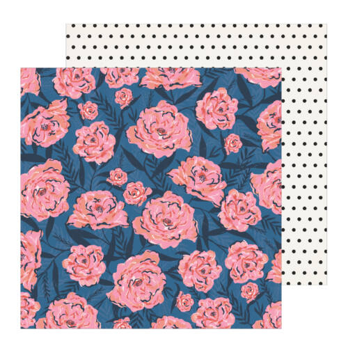 Crate Paper - All Heart 12x12 Patterned Paper - Wallflower