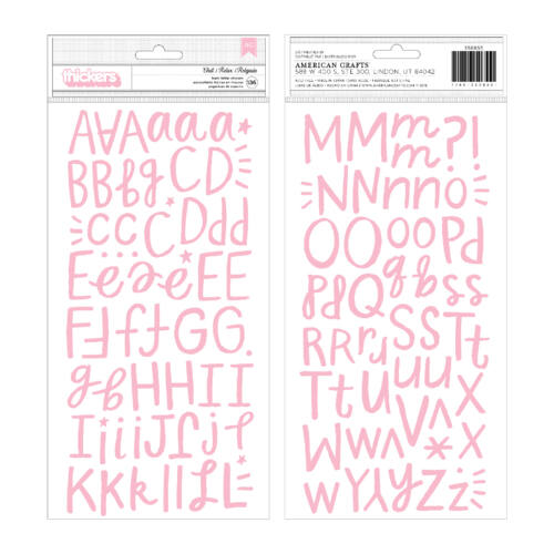 Crate Paper - All Heart dekorgumi betűmatrica - Chill
