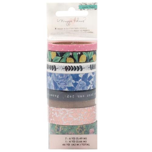 Crate Paper - Maggie Holmes Flourish  Washi Tape Set