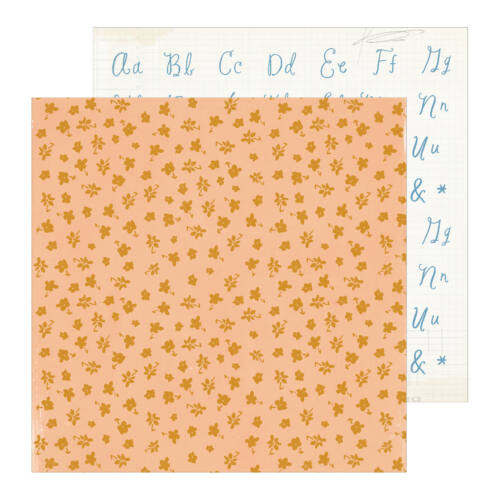 Crate Paper - Maggie Holmes - Heritage 12x12 Patterned Paper - Daughter