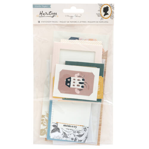 Crate Paper - Maggie Holmes - Heritage Stationary Pack (14 Piece)