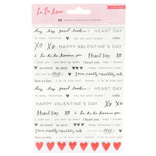 Crate Paper - La La Love felirat matrica (128 db)
