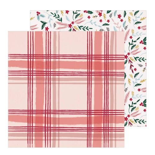 Crate Paper - Snowflake 12x12 Patterned Paper - Cabin