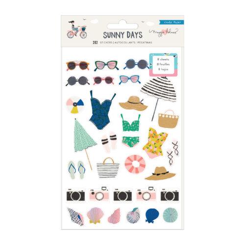 Crate Paper - Maggie Holmes - Sunny Days Sticker Book (202 Piece)