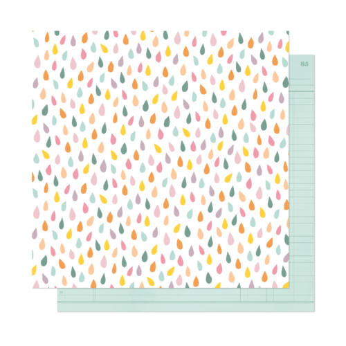 Dear Lizzy - It's All Good 12x12 Patterned Paper - Embrace Now
