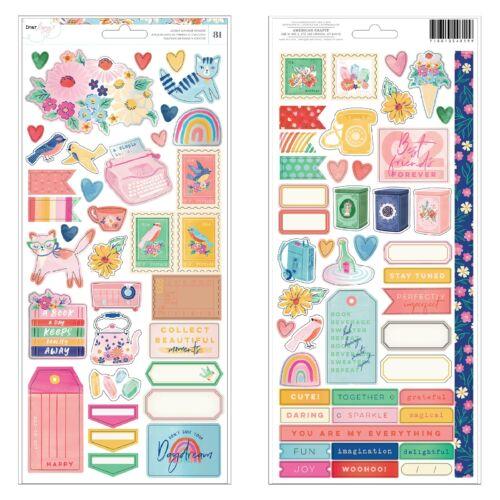 Dear Lizzy - She's Magic 6x12 Sticker (81 Piece)