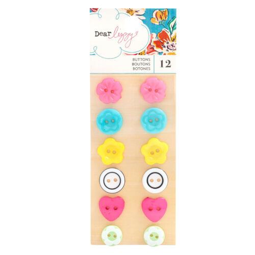 Dear Lizzy - She's Magic Buttons (12 Piece)