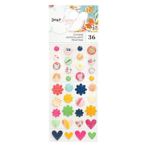Dear Lizzy - She's Magic Enamel Stickers (36 Piece)