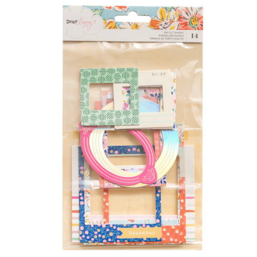 Dear Lizzy - She's Magic Chipboard Frames (14 Piece)