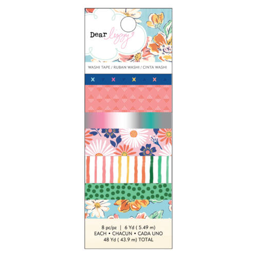 Dear Lizzy - She's Magic Washi Tape Set (8 Piece)