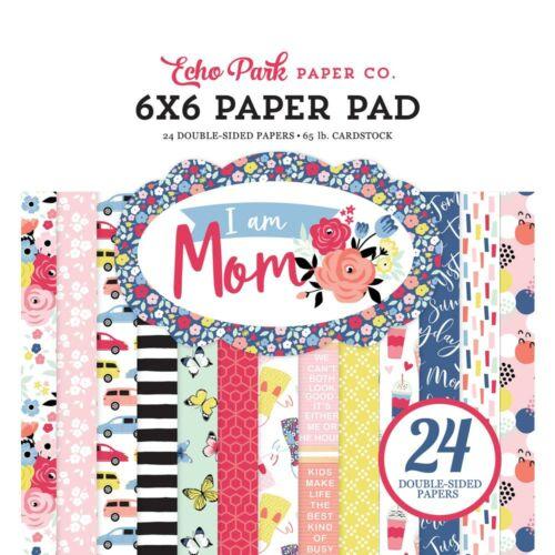 Echo Park - I Am Mom 6x6 Paper Pad (24 Sheets)
