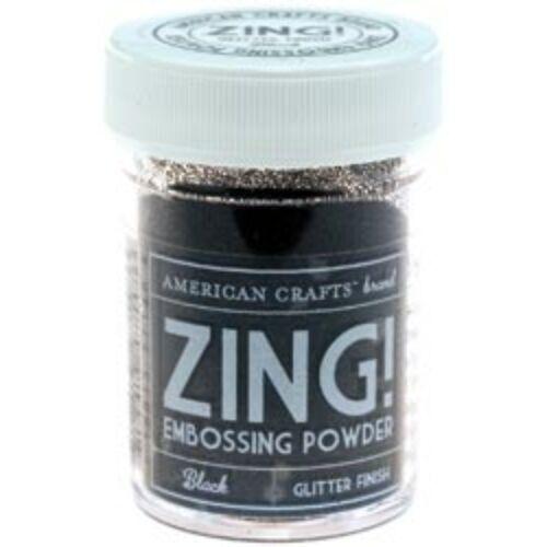 Zing! Opaque Embossing Powder - fekete