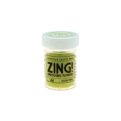 Zing! Opaque Embossing Powder - Leaf