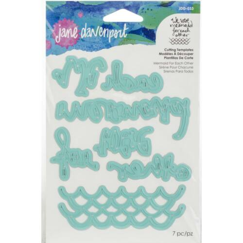 Spellbinders - Jane Davenport Artomology Etched Dies - Mermaid for Each Other