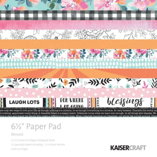 Kaisercraft - Blessed 6.5X6.5 Paper Pad