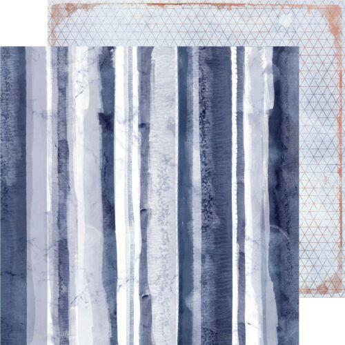 Kaisercraft - Misty Mountains 12x12 Paper - Eclipse