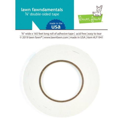 Lawn Fawndamentals Double-sided tape 3mmx50m