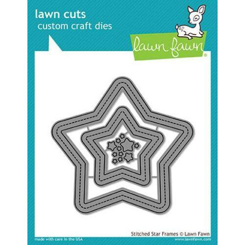 Lawn Cuts - Stitched Star Frames