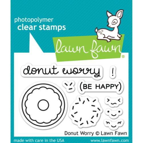 Lawn Fawn Clear Stamp - Donut Worry