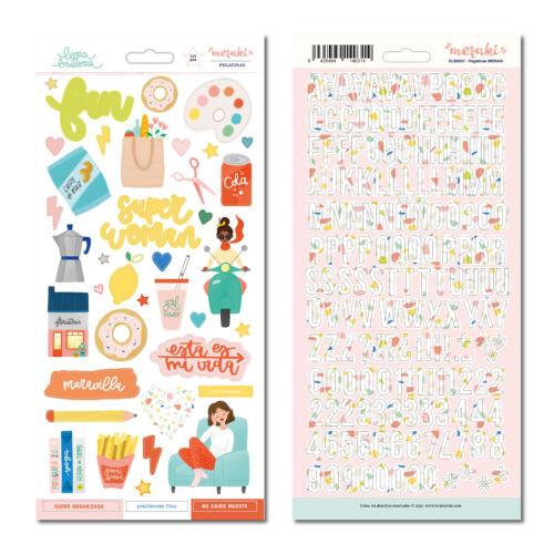 Lora Bailora - 6x12 Sticker (121 Pieces)