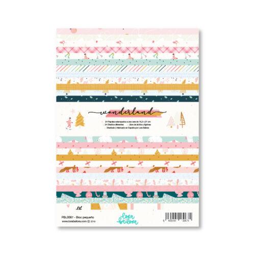 Lora Bailora - Wonderland 6x8  Paper Pad (24 Sheets)
