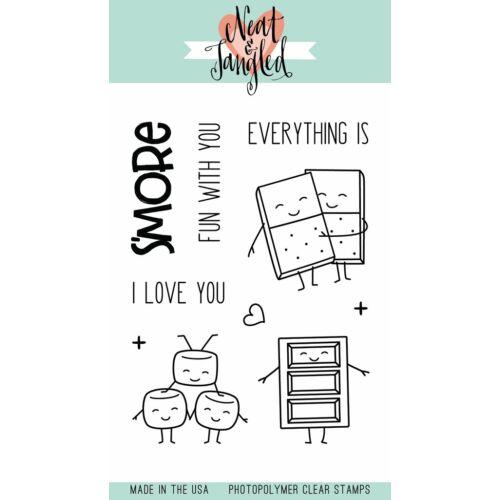 Neat & Tangled 3x4 Stamp Set - S'more Fun