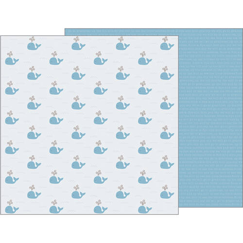 Pebbles - Nigh Night 12x12 Patterned Paper - Seaside