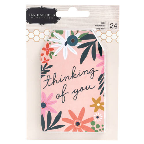 Pebbles - This is family Tag Pad (24 Piece)