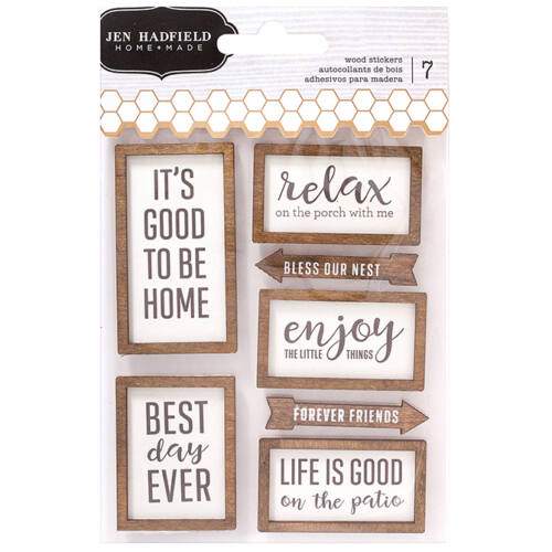 Pebbles - Patio Party Wood Stickers