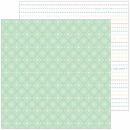 Pinkfresh Studio - Everyday Musings 12x12 Paper - Present and Perfect